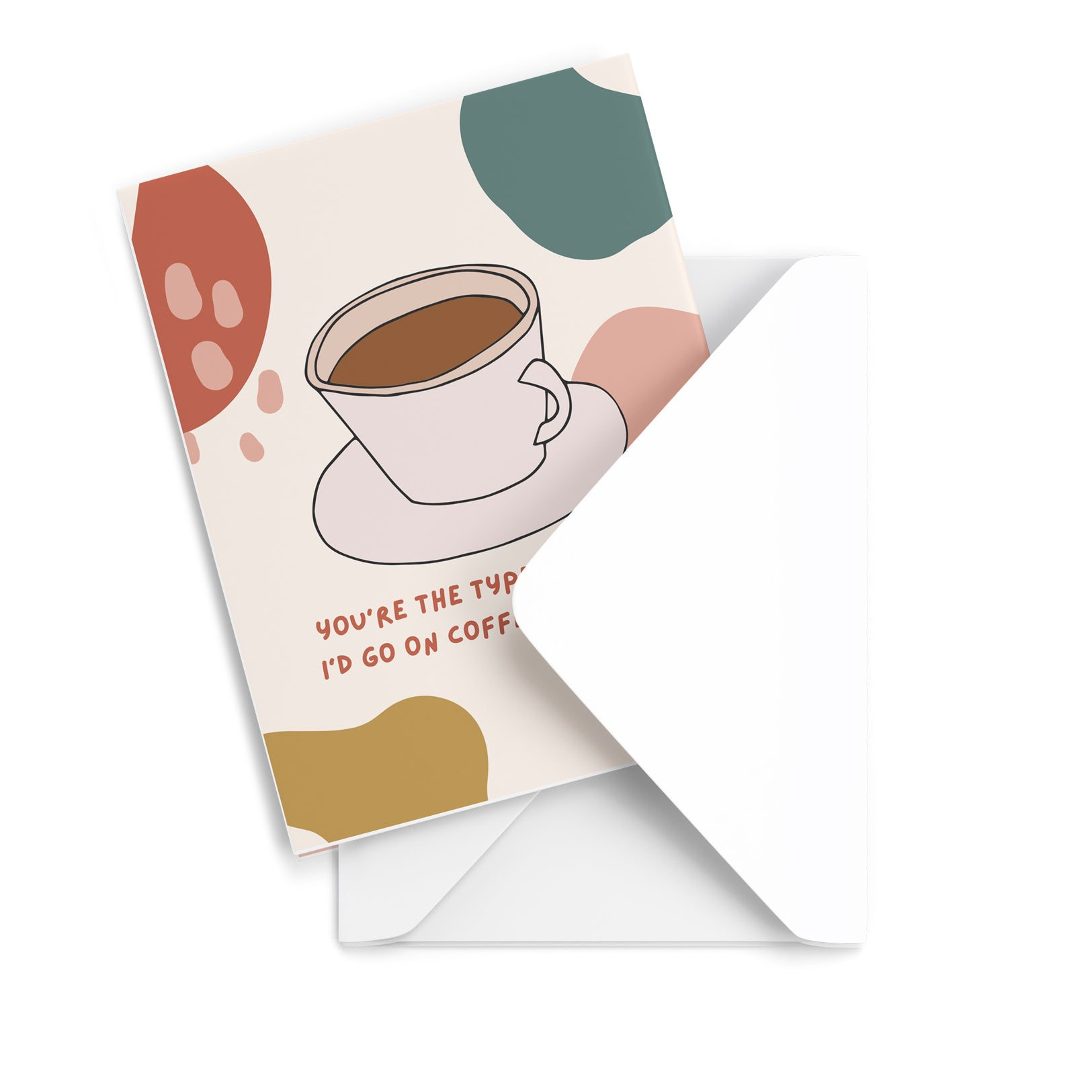 Coffee Dates Greeting Card