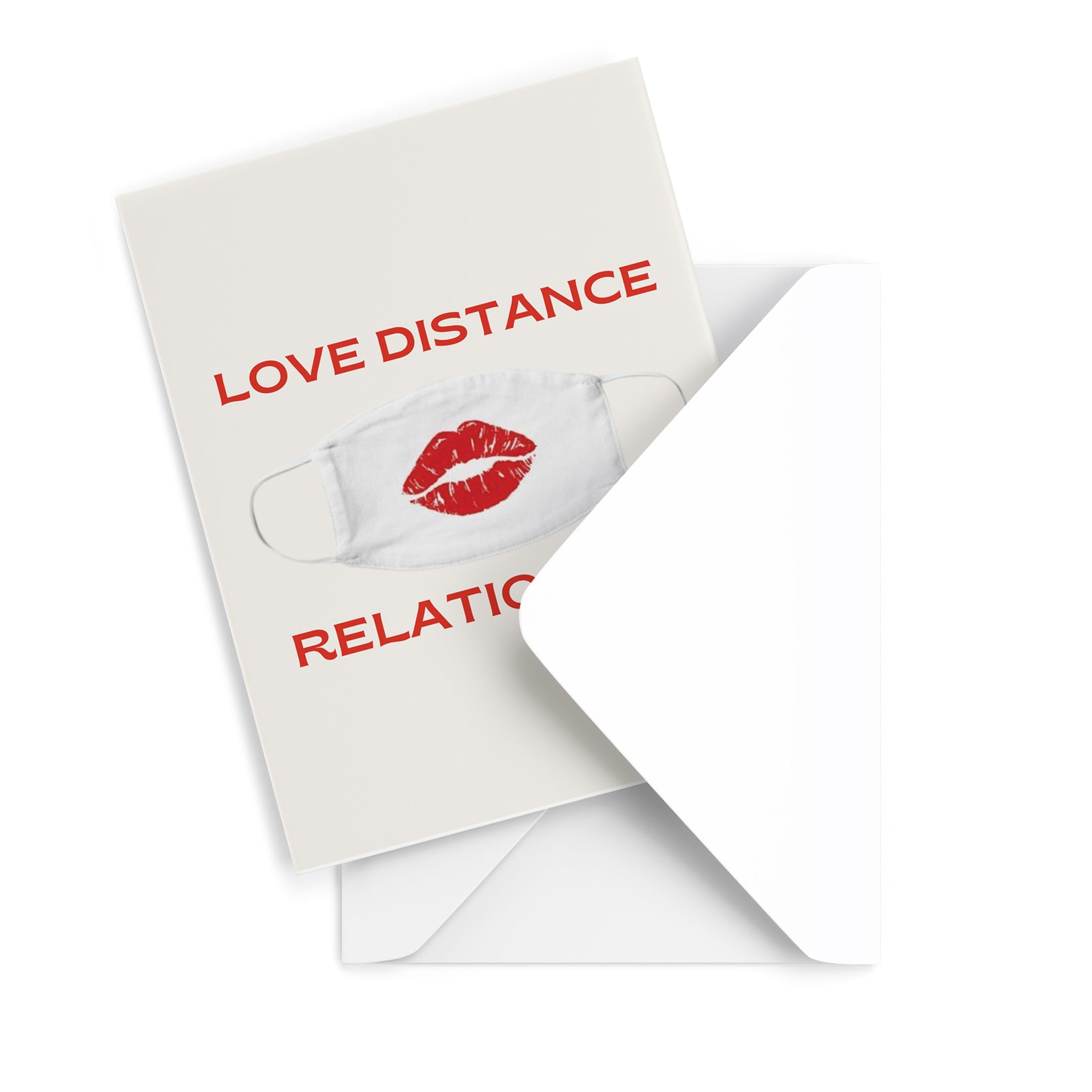 Love Distance Greeting Card