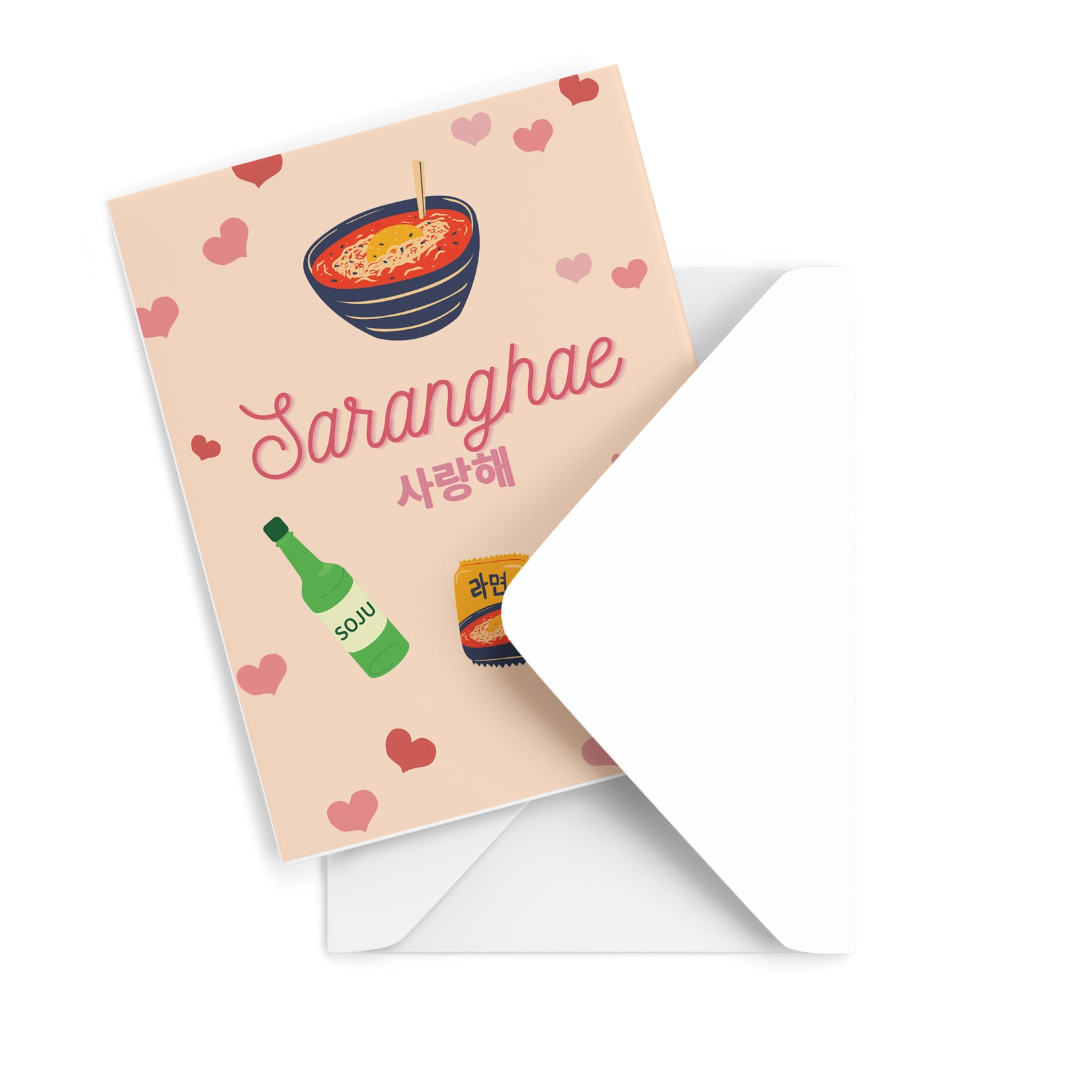 Saranghae Greeting Card