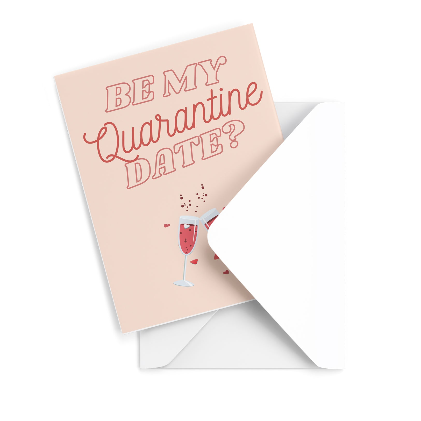 Quarantine Date Greeting Card