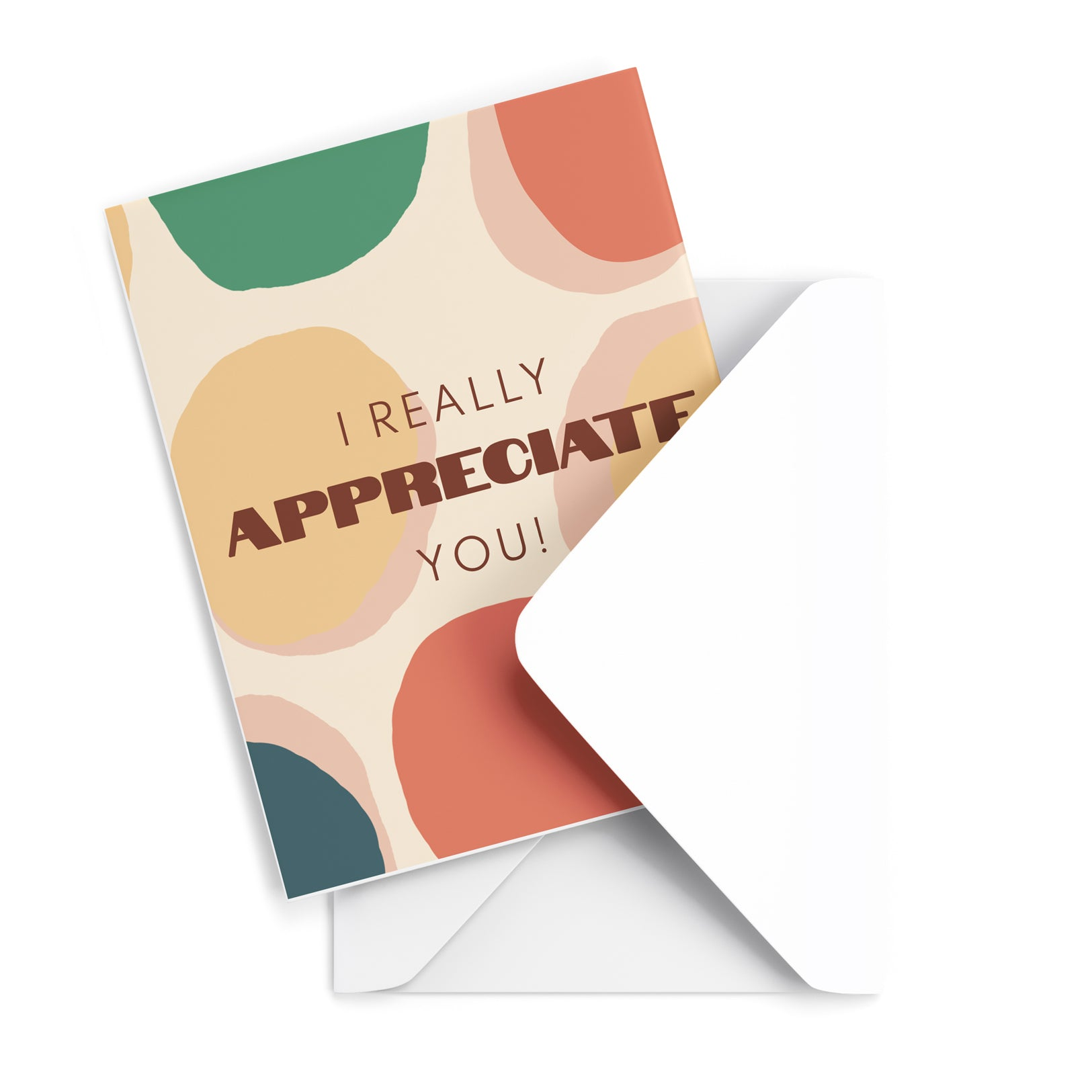 Appreciate Greeting Card