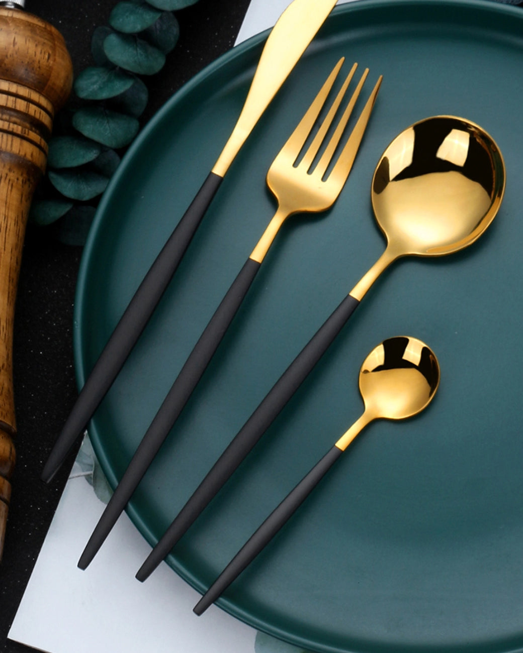 Duo-tone Utensil Set