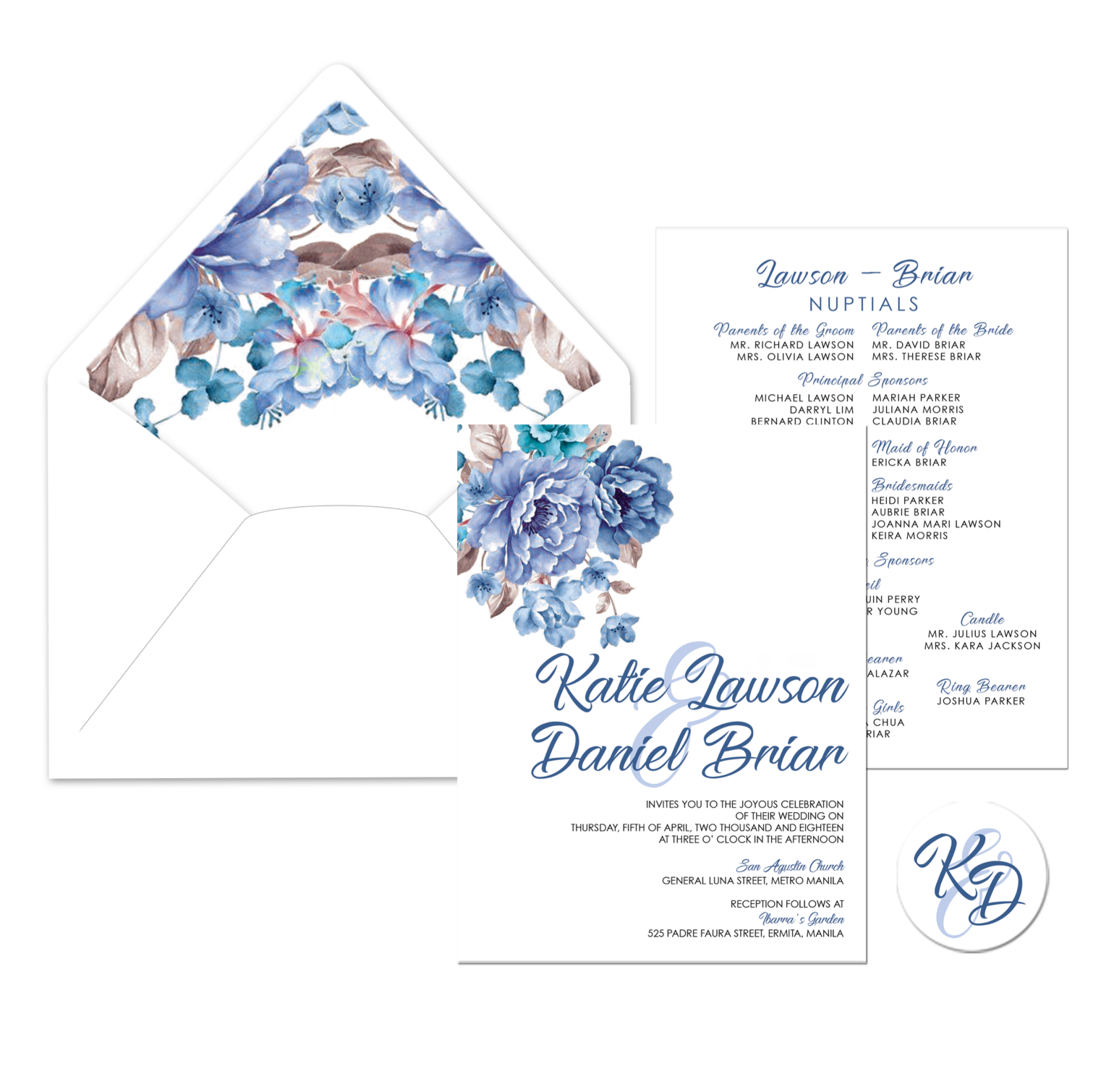 Ela Wedding Invitation