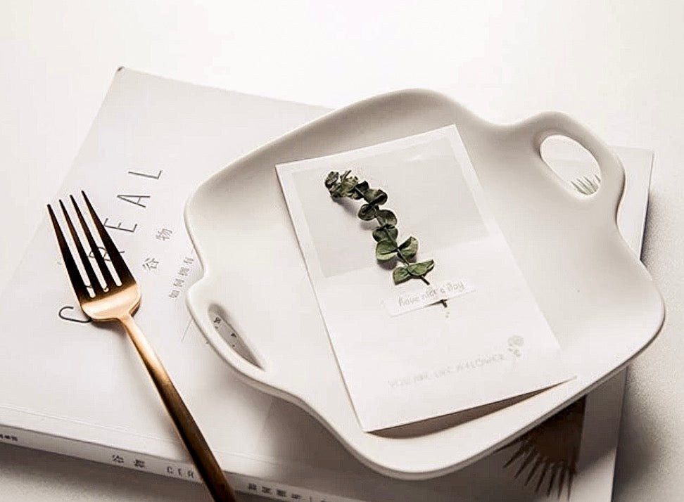 Marni Ceramic Square Dish