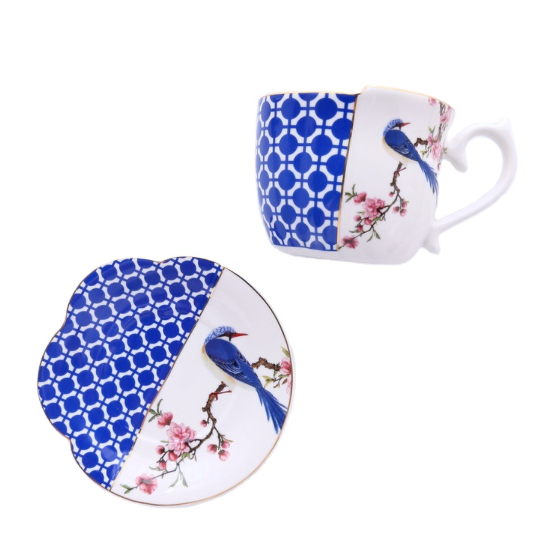 Diana Cup and Saucer Set