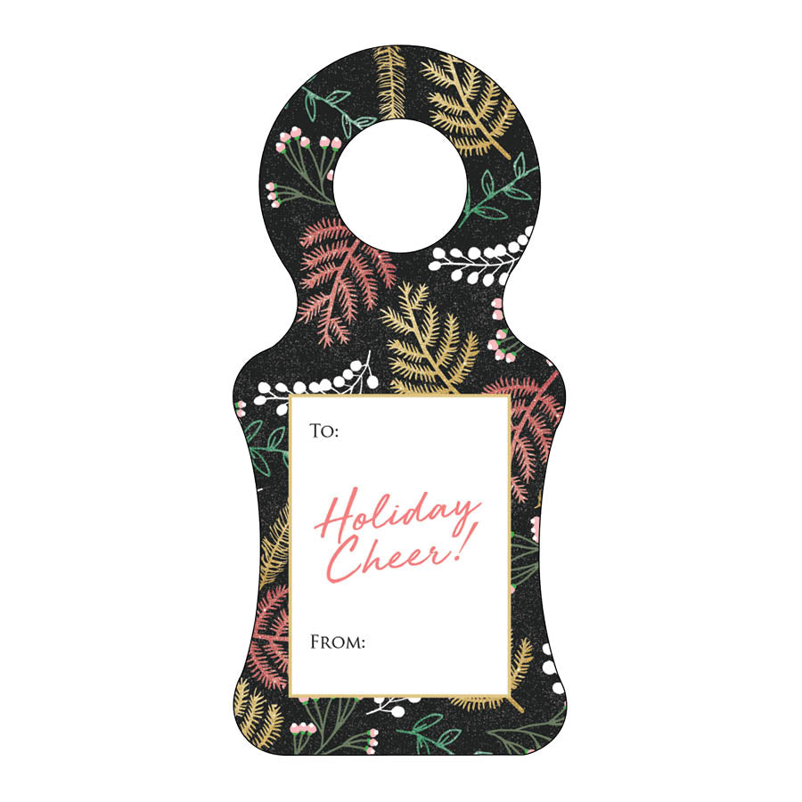 Christmas Wine Tag 12