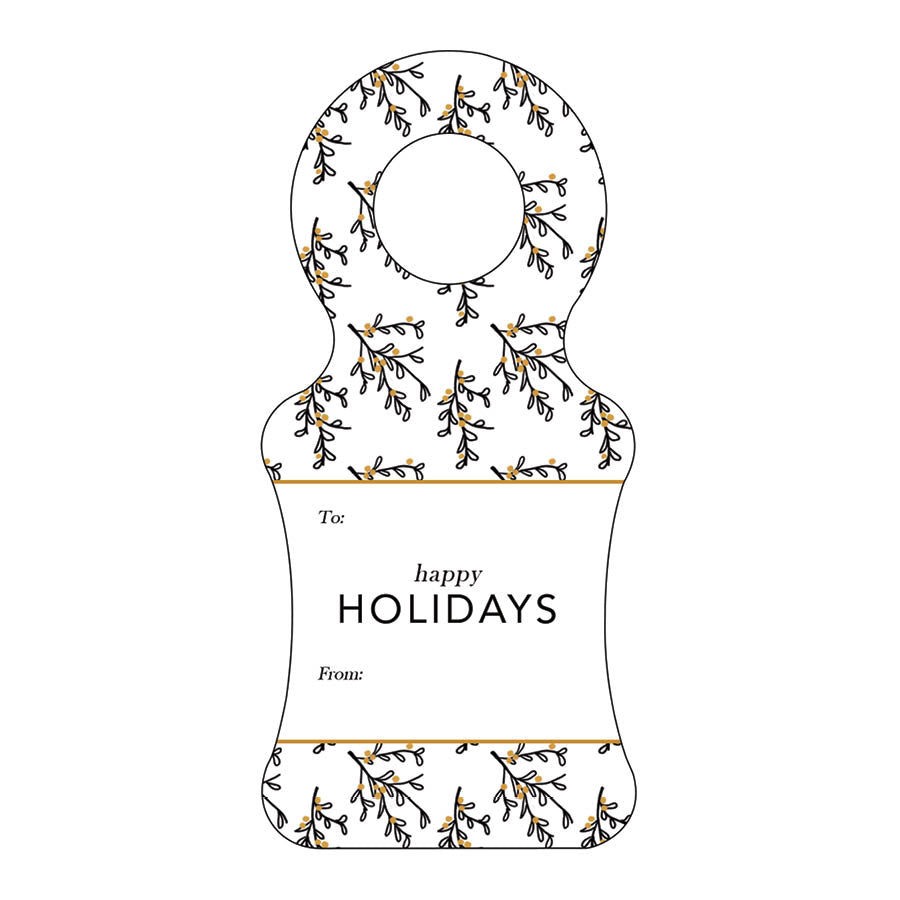 Christmas Wine Tag 29