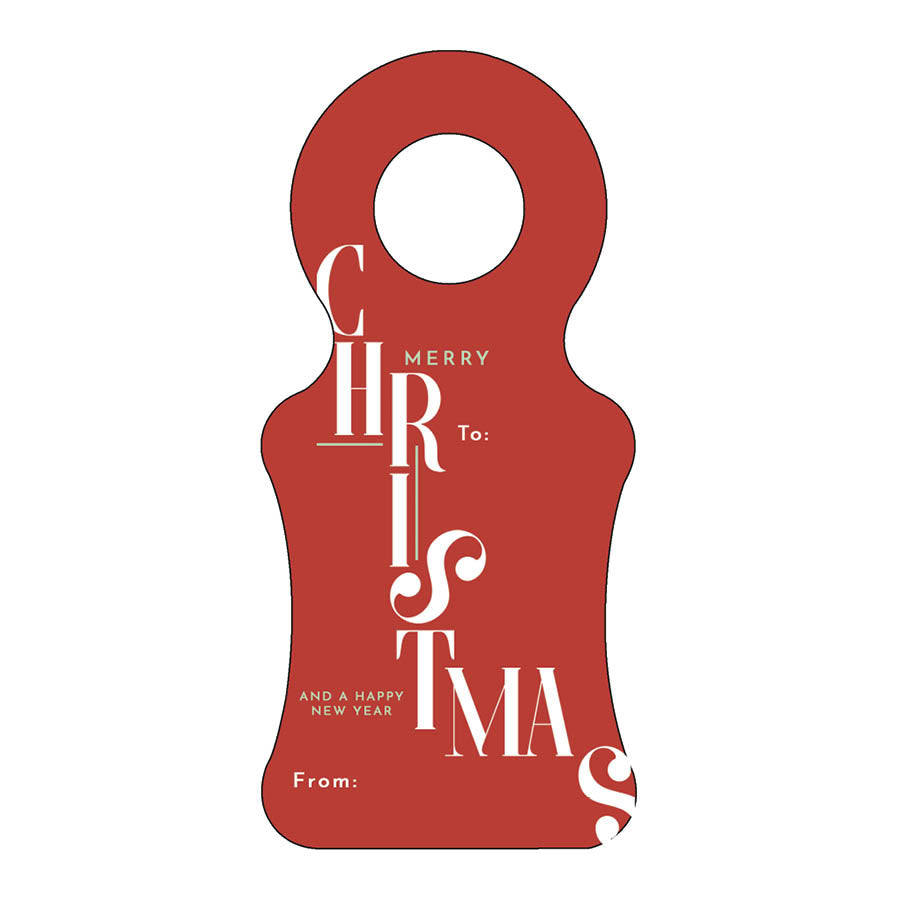 Christmas Wine Tag 31