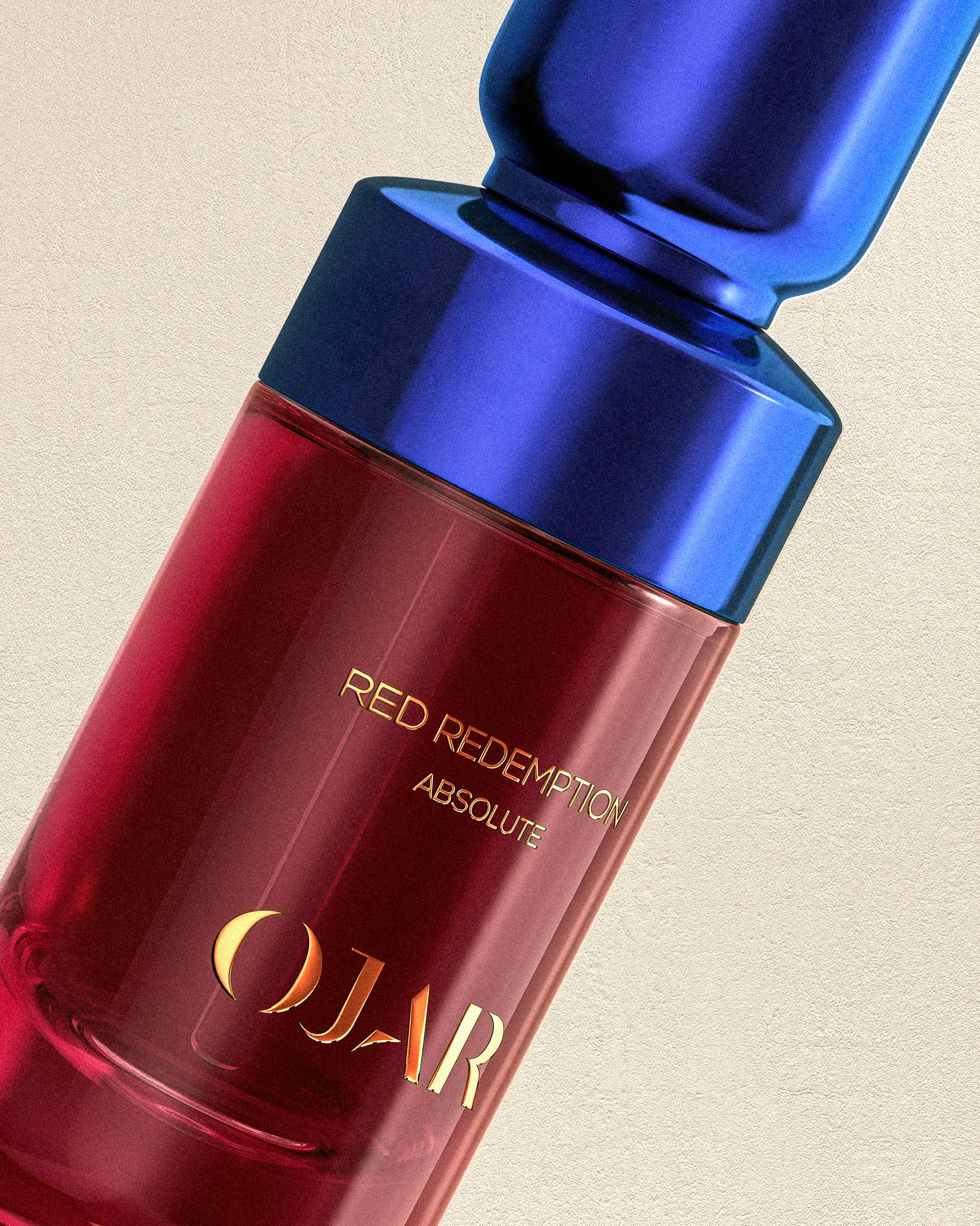 OJAR Absolute Red Redemption Perfume Close Up