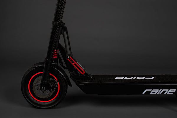 electric scooter suspension system
