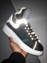 Load image into Gallery viewer, Oversized Sneaker - Black Silver White