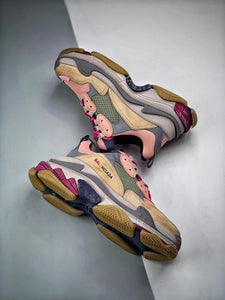 Triple S - Pink Grey Purple