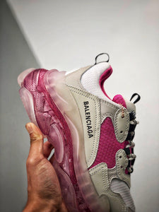 Triple S - White Pink Sole