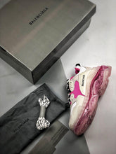 Load image into Gallery viewer, Triple S - White Pink Sole