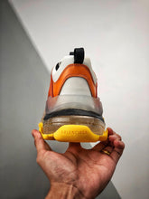 Load image into Gallery viewer, Triple S - Orange Yellow Clear Sole