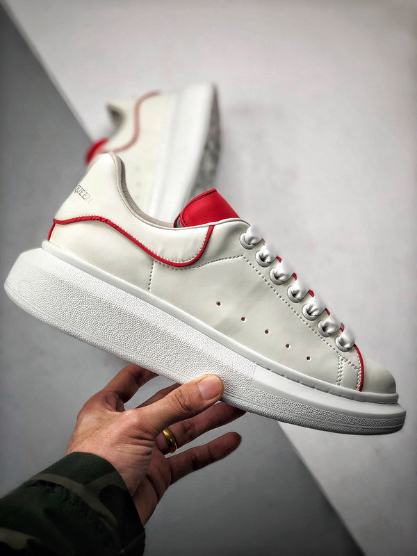 Oversized Sneaker - White Red