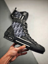Load image into Gallery viewer, B23 High Top Sneaker - Black