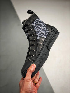 B23 High Top Sneaker - Black
