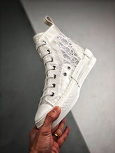Load image into Gallery viewer, B23 High High Sneaker - White Pattern