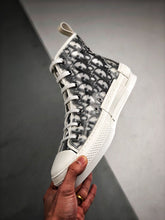 Load image into Gallery viewer, B23 High Top Sneaker - White Black