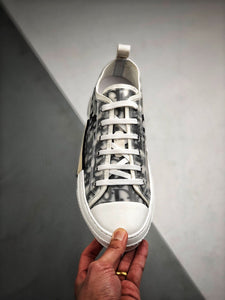 B23 High Low Sneaker - White Black
