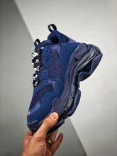 Load image into Gallery viewer, Triple S - Blue Clear Sole
