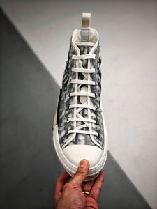 B23 High Top Sneaker - White Black