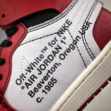 Load image into Gallery viewer, Retro 1 High - White Red
