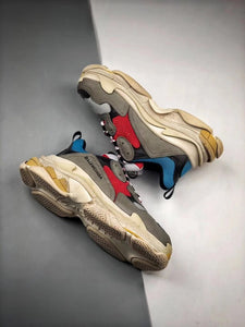 Triple S - Grey Blue Yellow