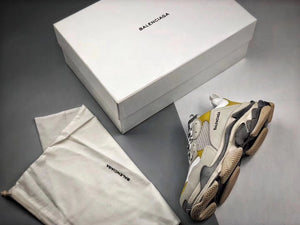 Triple S - White Yellow Grey