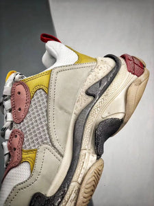 Triple S - White Yellow Red Black