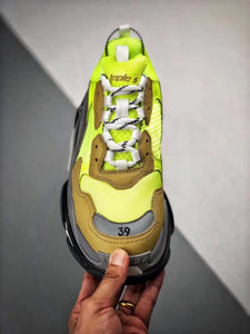Triple S - Yellow Grey Black