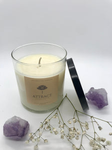 Black Raspberry & Vanilla Scented Candle