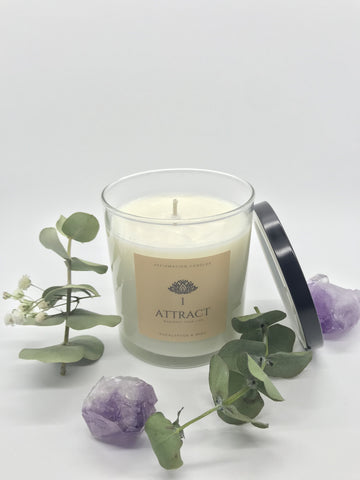 Eucalyptus & Mint Scented Candle