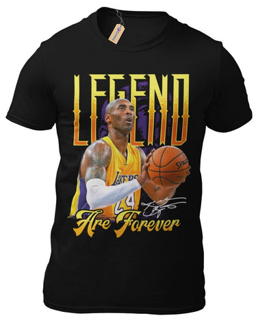 T-Shirt Kobe Bryant L.A.Lakers RIP Basketball Los Angeles NBA Basketball 17-1