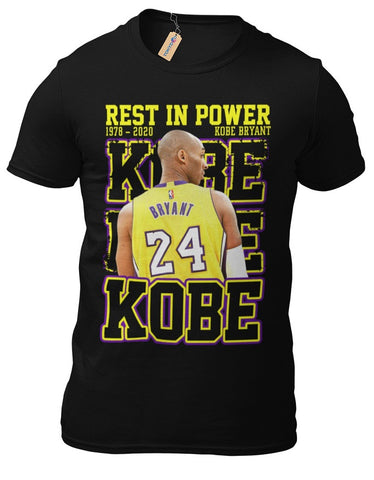 T-Shirt Kobe Bryant L.A.Lakers RIP Basketball Los Angeles NBA Basketball 19-1