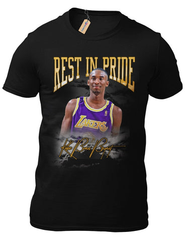 T-Shirt Kobe Bryant L.A.Lakers RIP Basketball Los Angeles NBA Basketball 20-1