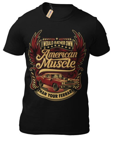 T-Shirt Hot Rod V8 Oldtimer American Custom Rockabilly Classic
