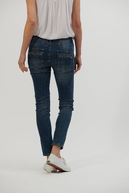 Button Jean - Denim