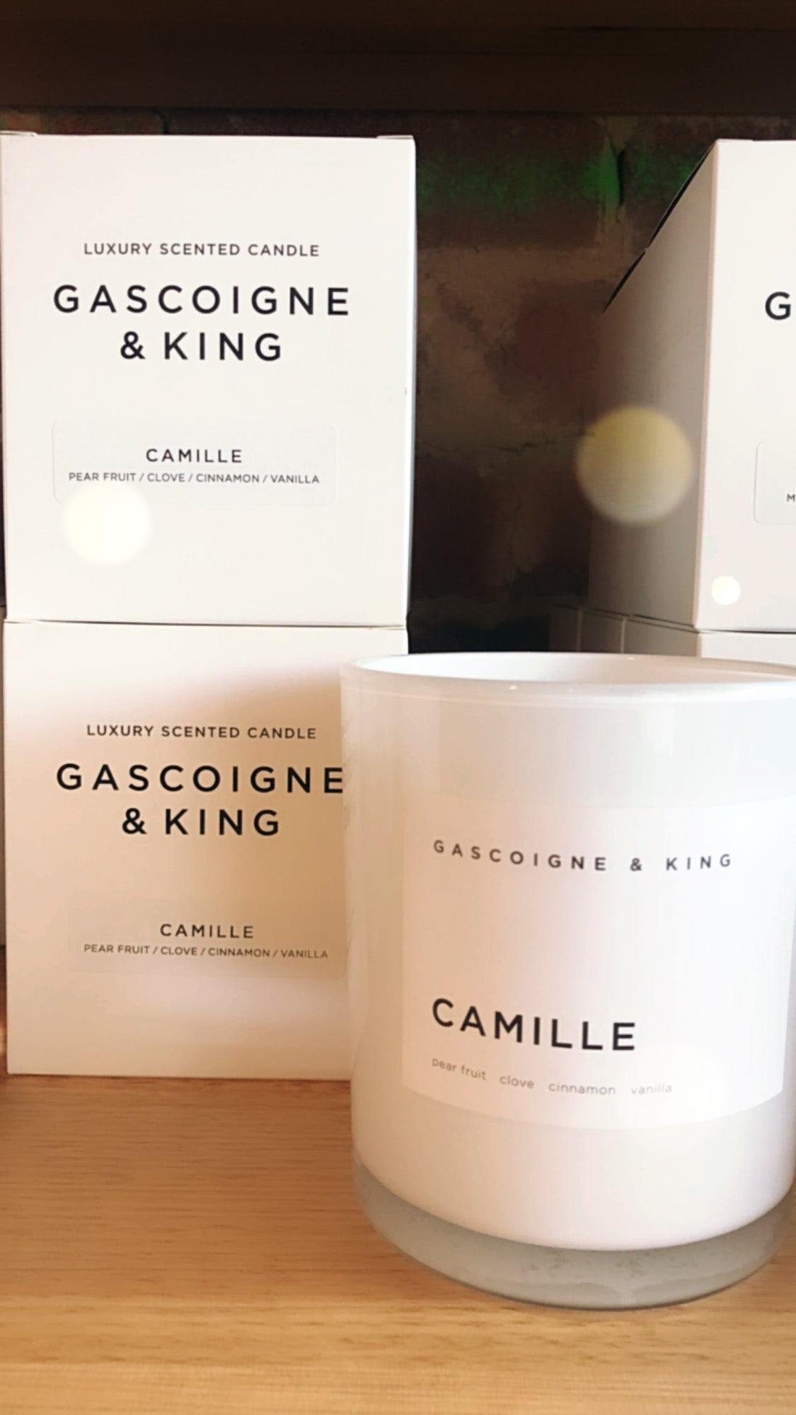 GK Candle - Camille