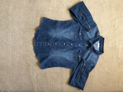 Stretch Denim Shirt