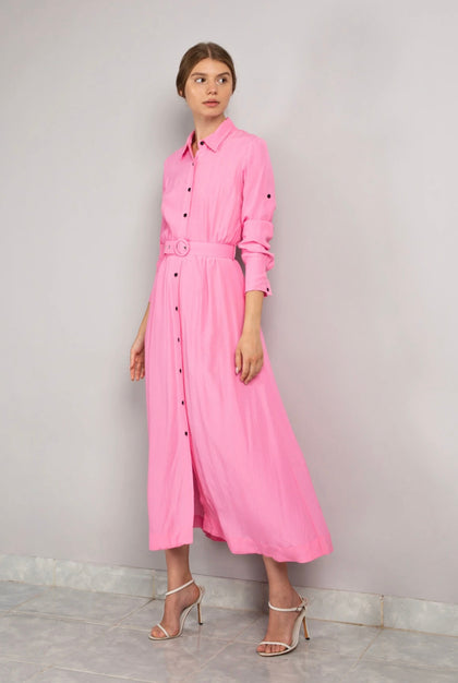 Long Sleeve Shirt Dress - Recovery