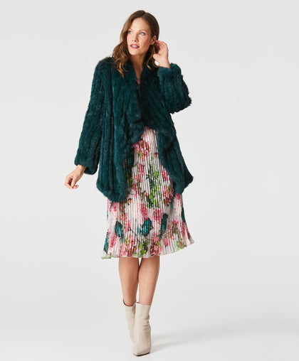 Waterfall Coat Fur