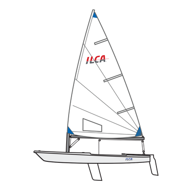 Laser/ILCA 191XXX series boat - SOLD