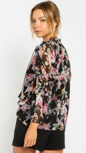 Load image into Gallery viewer, Floral Puff Sleeve Top