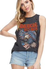 Load image into Gallery viewer, American Made Distressed Tank
