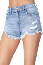 Load image into Gallery viewer, Jean Shorts - Lulu Highrise Sidecar