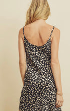 Load image into Gallery viewer, Panther Cowl Neck Slip Dress
