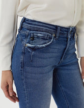 Load image into Gallery viewer, Mid Rise Ankle Skinny Jeans