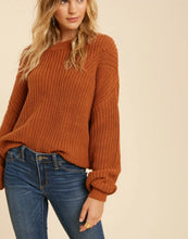 Load image into Gallery viewer, Camel Knitted Sweater